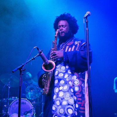 Kamasi Washington at the Riviera Theatre